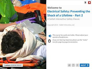 Electrical Safety: Preventing the Shock of a Lifetime™ - Part 2