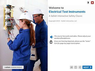 Electrical Test Instruments™ (Safety Classic eLearning Course)