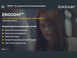 ENOUGH!™ The Consequences of Sexual Harassment (eLearning for Employees)