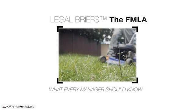 FMLA - Returning to Work