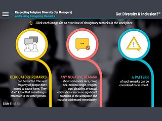 Got Diversity?™ Respecting Religious Diversity (for Managers)