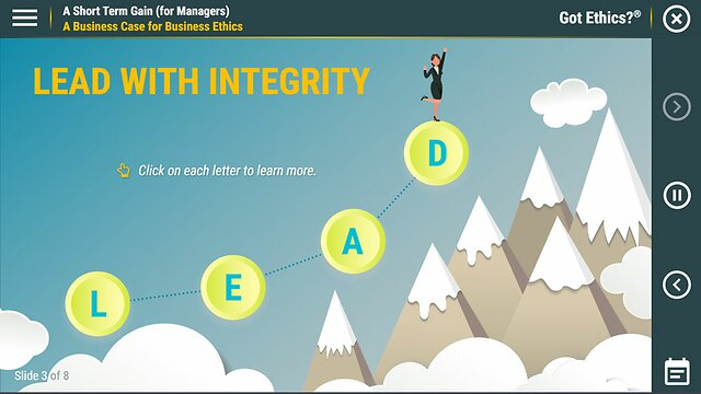 Got Ethics?® A Short Term Gain (for Managers)
