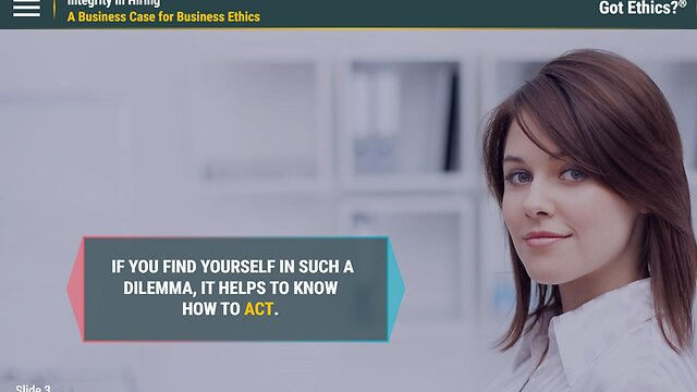 Got Ethics?® Integrity in Hiring
