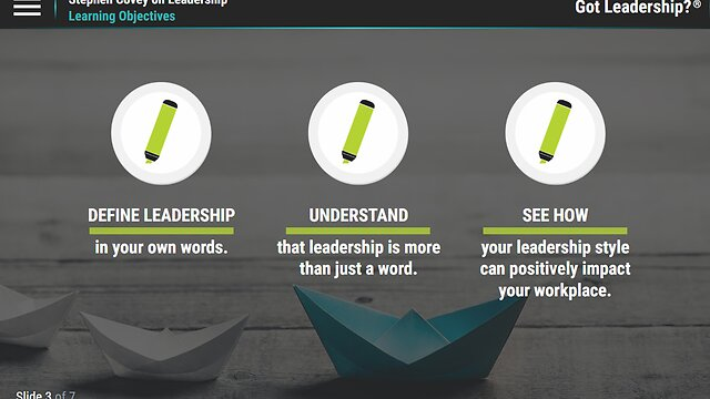Got Leadership?™ Stephen Covey on Leadership™