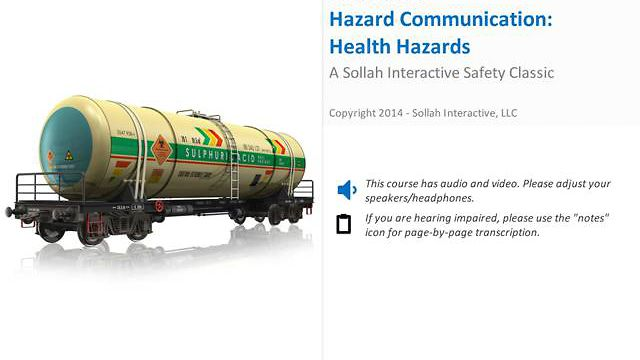Hazard Communication:  Health Hazards™