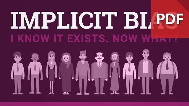 Implicit (Hidden) Bias Infographic