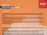 Info Brief: What is Unconscious Bias?