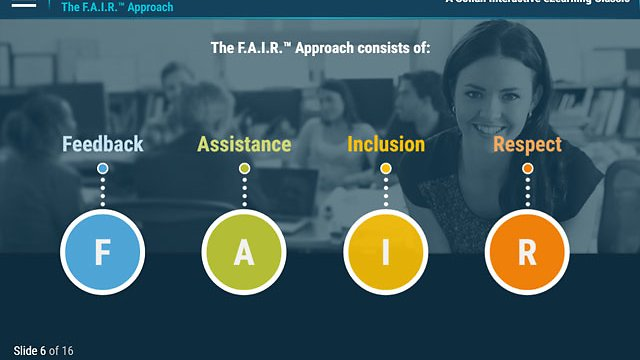 Just Be F.A.I.R.™: A Practical Approach to Diversity in the Workplace (eLearning - Classic)