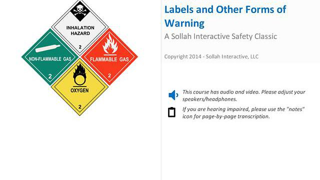 Labels and Other Forms of Warning™