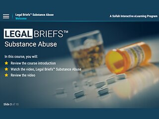 Legal Briefs™ Substance Abuse: The Manager's Role in Creating & Maintaining a Drug-free Workplace