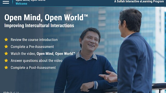 Open Mind, Open World: Improving Intercultural Interactions™  eLearning Classic