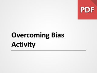 Overcoming Bias Activity