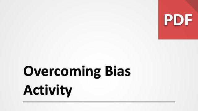 Overcoming Bias Activity