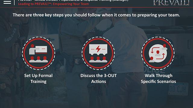 PREVAIL!® Armed Intruder Preparedness & Response Training (Advantage Plus - Manager)