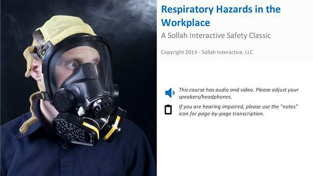Respiratory Hazards in the Workplace™
