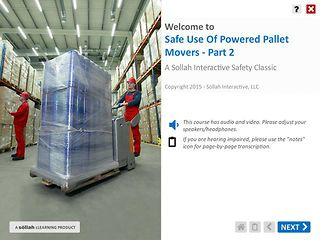 Safe Use of Powered Pallet Movers™ - Part 2