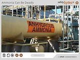 SafetyBytes® - Ammonia Exposure Hazards