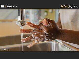 SafetyBytes® - Bloodborne Diseases: Proper Washing