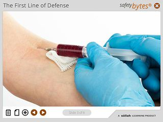 SafetyBytes® - Bloodborne Diseases: The Need for PPE