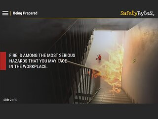 SafetyBytes® Fire Safety: Using Fire Extinguishers Safely