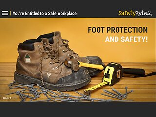 SafetyBytes® - Foot Protection (Wearing PPE)