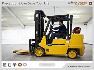 SafetyBytes® Forklift Safety: Changing the LP Tank