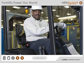 SafetyBytes® - Forklift Safety Common Sense Driving Skills