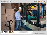 SafetyBytes® Forklift Safety: Physical Inspection For Battery-Powered Engines