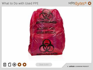 SafetyBytes® - Handling Contaminated PPE and Equipment