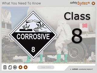 SafetyBytes® - Hazard Class 8 - Corrosive Materials
