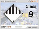 SafetyBytes® - Hazard Class 9 - Miscellaneous Hazardous Materials