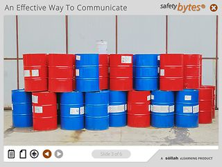 SafetyBytes® Hazardous Chemical Container Labeling