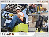 SafetyBytes® - Improper Use of a Forklift
