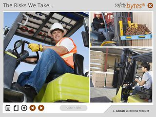 SafetyBytes® - Improper Use of a Forklift