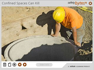 SafetyBytes® - Preparing for Confined Space Entry