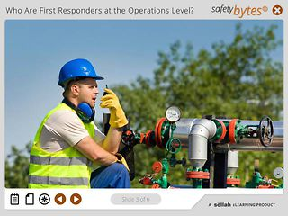 SafetyBytes® - Responding to Chemical Leaks (Operations Level)