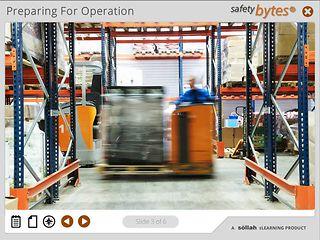SafetyBytes® - Safe Pallet Mover Operation
