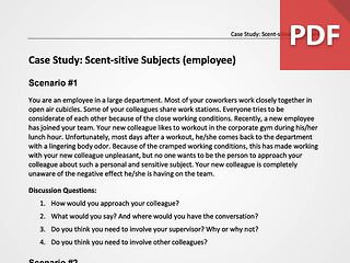 Scent-sitive Subjects