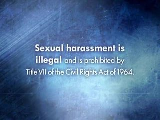 Sexual Harassment in the Workplace (Managers): Program Introduction