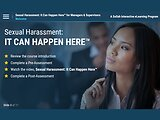 Sexual Harassment: It Can Happen Here™ (Managers/Supervisors)