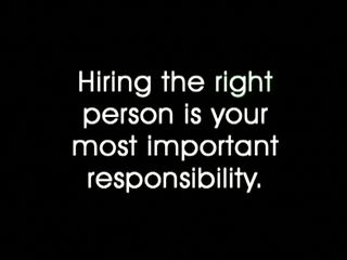 SMART-START™ Interviewing: Hire the Right Person