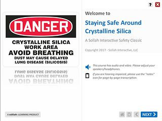 Staying Safe Around Crystalline Silica™