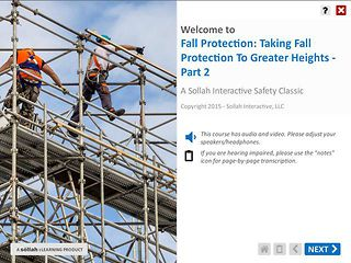 Taking Fall Protection to Greater Heights™ - Part 2