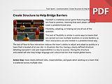 Team Spark: Create Structure to Help Bridge Barriers