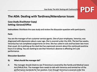 The ADA & Attendance