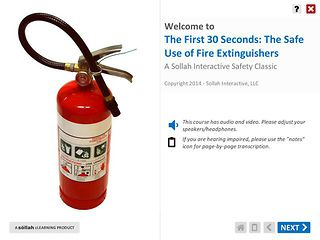 The First 30 Seconds: The Safe Use of Fire Extinguishers™