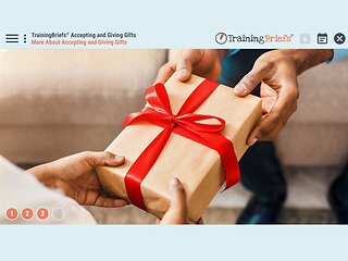 TrainingBriefs™ Accepting and Giving Gifts