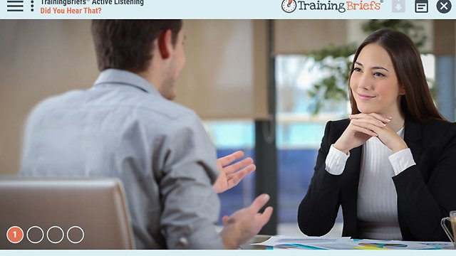 TrainingBriefs® Active Listening