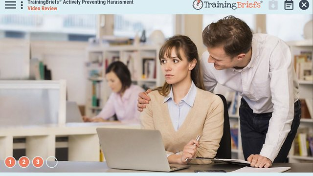 TrainingBriefs® Actively Preventing Harassment