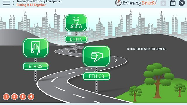 TrainingBriefs® Being Transparent